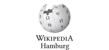 Logo Wikipedia Hamburg